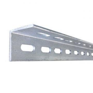 Ms Steel BS En S355j0 S355jr Galvanized Slotted Angle Steel Bar Perforated L Shape Steel Bar