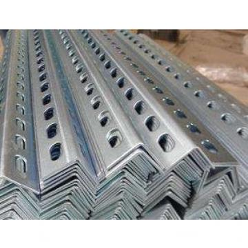 Perforated Holes Equal and Unequal Galvanized Powder Coated Slotted Angle Steel Bars