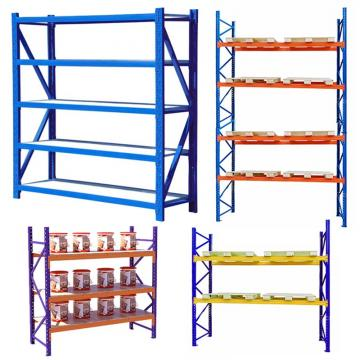 Angle Iron Industrial Logistics Equipment Shelf
