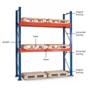 Pharmacy Industry 5 Tiers Metal Long Span Bulk Storage Shelving