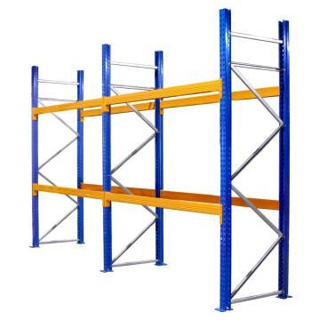 Warehouse Storage Heavy Duty Galvanized Metal Shelf Steel Pallet Racking