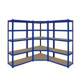 Industrial Metal Ladder Book Shelf Wooden for Living Room